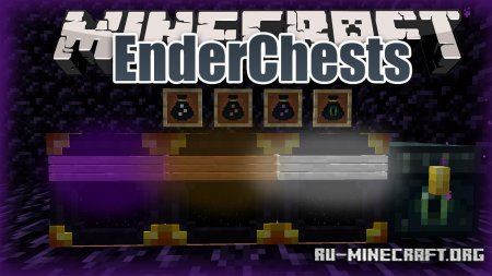 Скачать EnderChests для Minecraft 1.16.5