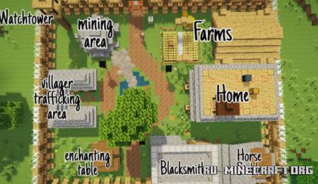 Скачать ended's Base для Minecraft