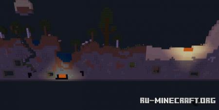 Скачать 2D Survival World для Minecraft PE