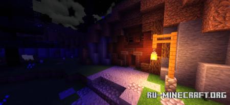 Скачать Haptic Shader (Lite) для Minecraft PE 1.16