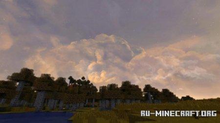 Скачать Realistic Sky для Minecraft 1.16