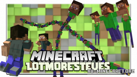 Скачать LotMoreSteves для Minecraft 1.16.5