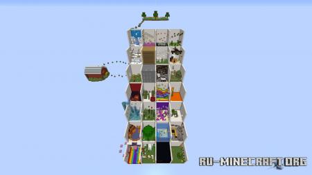 Скачать Parkour Stairs by Vanilla_The_Cat для Minecraft