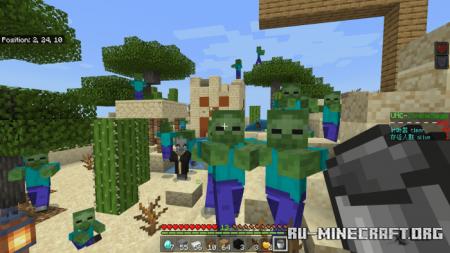 Скачать UHC-ZombieSiege для Minecraft PE