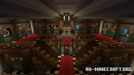 Скачать Springwood Manor (Horror) для Minecraft PE