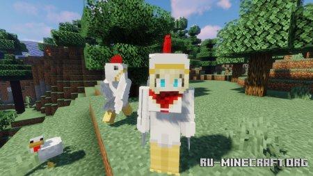 Скачать Player Mob Models для Minecraft 1.15