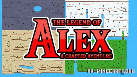 Скачать The Legend of Alex для Minecraft