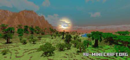 Скачать Tropical Oasis Island для Minecraft PE