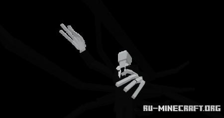 Скачать The Slenderman by Aaron Gamer для Minecraft PE 1.16