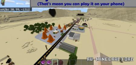 Скачать Radiator Springs - World of Cars для Minecraft