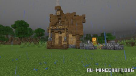 Скачать Village Houses by JocyDee10 для Minecraft PE