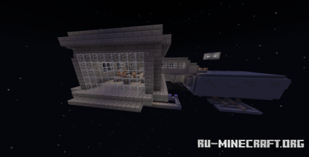 Скачать Stuck In Space Adventure для Minecraft PE