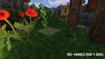 Скачать Misas Realistic [64x] для Minecraft 1.15