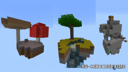 Скачать Skyblock-Crafted 1.2 для Minecraft PE