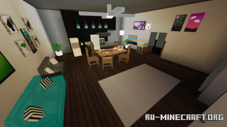 Скачать Screenfy's Modern Furniture Pack V2 для Minecraft PE 1.15
