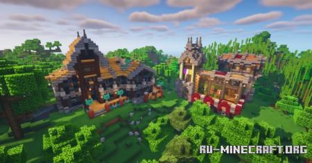 Скачать Fantasy Alternative Structure by Poker_Adventure для Minecraft