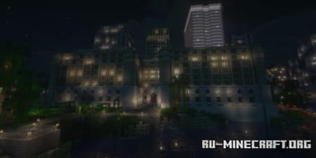 Скачать Custom House - Parks Canada Building для Minecraft