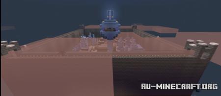 Скачать The Kingafiqq Town для Minecraft PE
