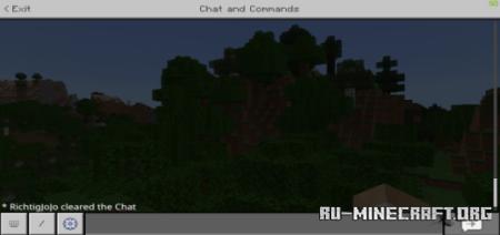 Скачать Chat Clearer для Minecraft PE 1.16
