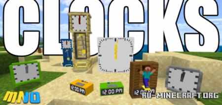 Скачать Clocks для Minecraft PE 1.16