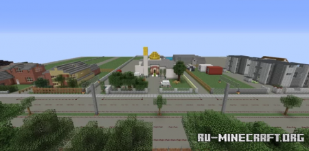 Скачать Al Noor Mosque, Christchurch для Minecraft