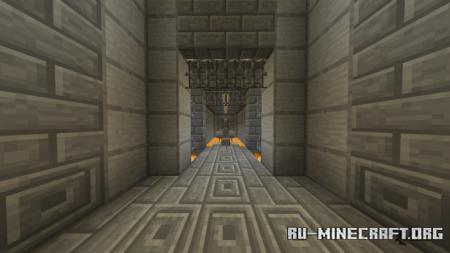 Скачать Herobrine's Dungeon Hard Parkour для Minecraft PE