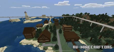Скачать Nations Realm V2 для Minecraft PE