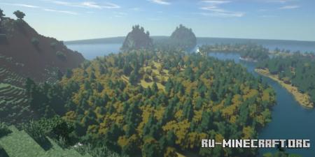 Скачать Isle by Gravewalker для Minecraft