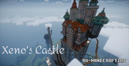 Скачать Xeno's Castle для Minecraft