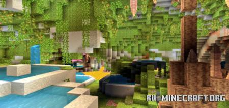 Скачать Caves & Caves для Minecraft PE 1.16