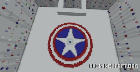 Скачать Captain America Parkour для Minecraft