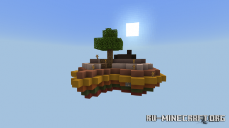 Скачать Mr. Green's Skyblock для Minecraft PE