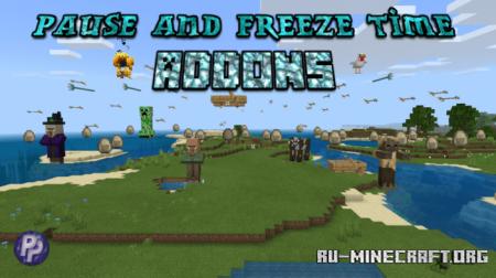 Скачать Pause & Freeze Time для Minecraft PE 1.16