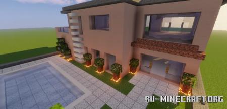 Скачать Modern House #88 для Minecraft
