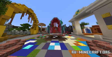 Скачать Mysterious Garden by Renaldo585 для Minecraft