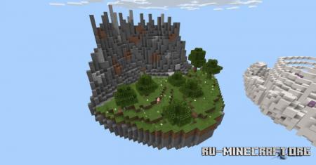 Скачать Elemental Islands by BenjaminTheJump для Minecraft PE