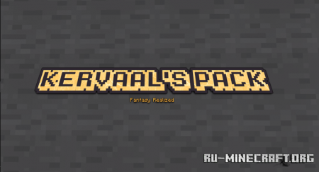 Скачать Kervaal's Pack [16x16] для Minecraft PE 1.16