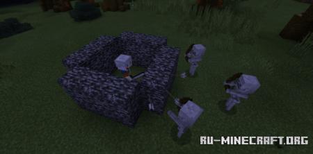 Скачать Deadly Mobs (Neversafe) для Minecraft PE 1.16
