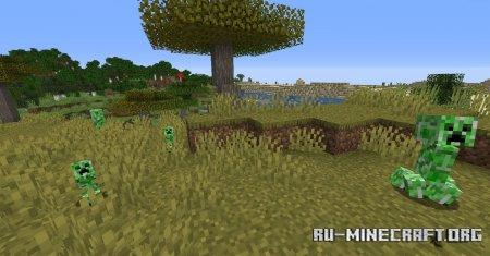 Скачать Creeper Spores для Minecraft 1.16.5