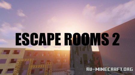 Скачать Escape Rooms 2 by MCL, LOOKI2000 для Minecraft