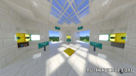 Скачать 500×500 Superflat Survival Challenge для Minecraft PE