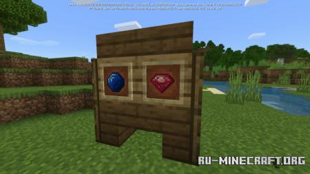 Скачать Ruby & Sapphire для Minecraft PE 1.16