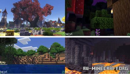 Скачать Better Menu Pack для Minecraft PE 1.16