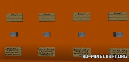 Скачать Prison Map – Cops and Robbers для Minecraft PE
