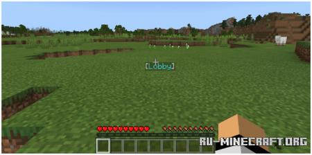 Скачать Floating Text для Minecraft PE 1.16