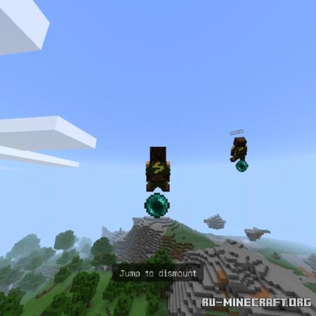 Скачать Rideable Ender Pearl для Minecraft PE 1.16