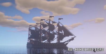 Скачать Black Pearl by Micholex для Minecraft