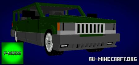 Скачать Grand Cherokee для Minecraft PE 1.16