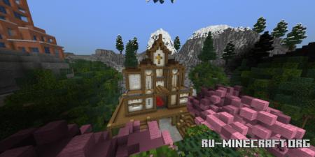 Скачать Free Realm - Server Lobby by FinnOneBit для Minecraft PE