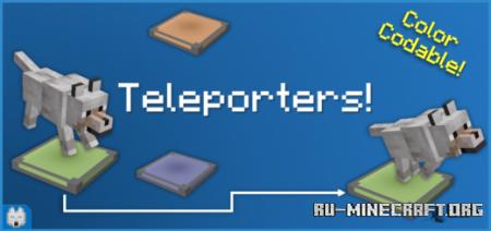 Скачать Bits & Bytes: Teleporters для Minecraft PE 1.16
